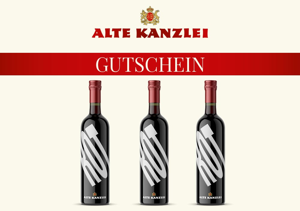 Wein-Geschenkset Alte Kanzlei (rot)