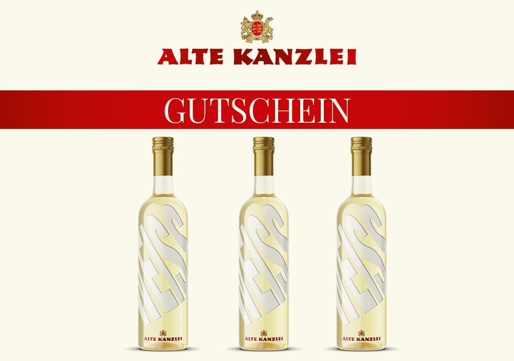 Wein-Geschenkset Alte Kanzlei (weiß)